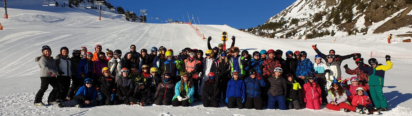 School Ski Trip to Andorra, University Academy Holbeach