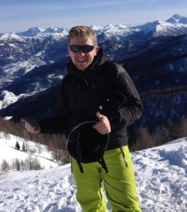 Andy Cleary, Head of Ski, inspireski