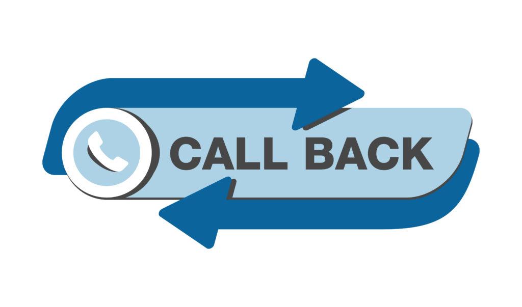 Request a callback button